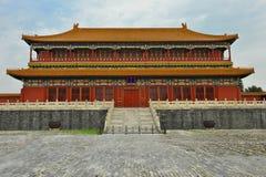 Cidade proibida em Beijing, China foto de stock royalty free