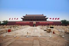 A cidade proibida em Beijing, China imagens de stock