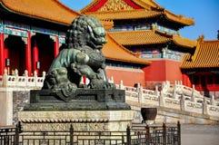 Cidade proibida em Beijing, China Imagens de Stock