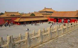 A Cidade Proibida, Pequim imagem de stock