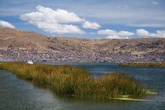 Cidade Puno, Peru foto de stock royalty free