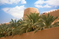 Cidade árabe velha Fotografia de Stock