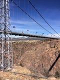 Cidade real do canhão do desfiladeiro, Colorado fotografia de stock royalty free
