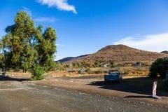 A cidade remota de Nieu Bethesda no Karoo Fotos de Stock