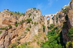 Cidade Rhonda, Espanha Fotografia de Stock