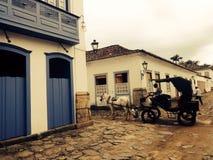 Cidade Rio de janeiro de Paraty Imagens de Stock