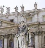 Cidade Roma do St Peters Basilica Vatican Fotografia de Stock Royalty Free