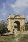 Cidade romana antiga de Gerasa Jerash moderno Fotografia de Stock