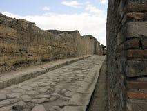 A cidade, romanos foi enterrada completamente quando montagem Vesu Fotografia de Stock