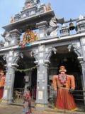 A cidade sagrado Udupi do templo fotografia de stock