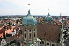 Cidade salão Augsburg Fotografia de Stock Royalty Free