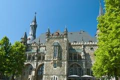Cidade salão de Aix-la-Chapelle Imagem de Stock Royalty Free