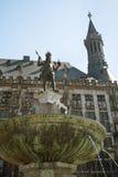 Cidade salão de Aix-la-Chapelle Foto de Stock Royalty Free