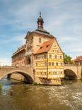 Cidade salão de Bamberga, Alemanha Fotos de Stock Royalty Free