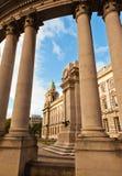Cidade salão de Belfast Fotografia de Stock Royalty Free
