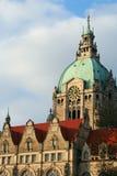 Cidade salão de Hannover Foto de Stock Royalty Free