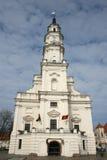 Cidade salão de Kaunas imagens de stock royalty free