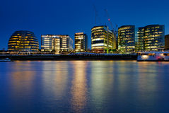 Cidade salão de Londres - 3 Fotos de Stock Royalty Free