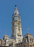 Cidade salão de Philadelphfia Imagens de Stock Royalty Free