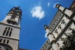 Cidade salão de Philadelphfia imagem de stock