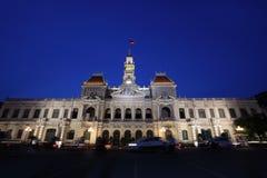 Cidade salão de Saigon Fotos de Stock Royalty Free