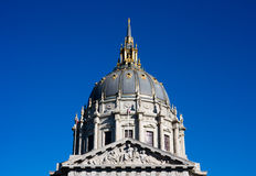 Cidade salão de San Francisco Imagem de Stock Royalty Free