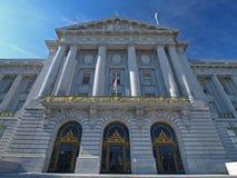 Cidade salão de San Francisco Fotografia de Stock