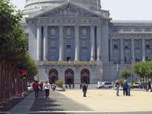 Cidade salão de San Francisco Imagens de Stock