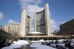 Cidade salão de Toronto Fotos de Stock Royalty Free