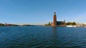 Cidade salão em Éstocolmo sweden filme