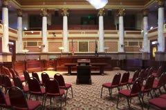 Cidade salão em Helena, Montana fotos de stock royalty free