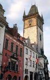 Cidade salão em Praga Fotografia de Stock Royalty Free