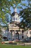 Cidade salão Kingston Ontário Canadá Foto de Stock Royalty Free