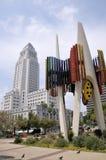 Cidade salão Los Angeles da baixa de Los Angeles Foto de Stock