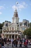Cidade salão no mundo de Walt Disney Imagens de Stock Royalty Free