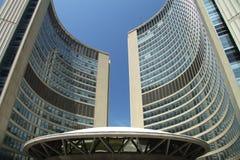 Cidade salão nova Foto de Stock Royalty Free