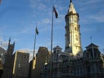 Cidade salão - Philadelphfia Imagem de Stock