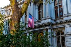 Cidade salão velha Foto de Stock Royalty Free