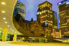 Cidade salão velha, Toronto Foto de Stock Royalty Free
