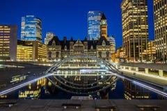 Cidade salão velha, Toronto Imagem de Stock