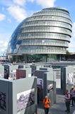 Cidade salão de Londres Fotografia de Stock Royalty Free