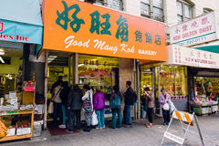 Cidade San Francisco California de China Imagem de Stock