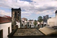 Cidade Santa Cruz de La Palma imagens de stock