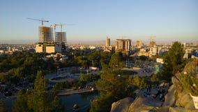 A cidade santa de Mashhad fotos de stock royalty free