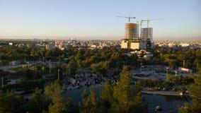 A cidade santa de Mashhad fotos de stock
