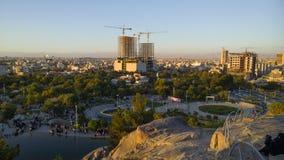 A cidade santa de Mashhad imagem de stock royalty free