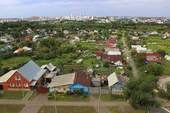 Cidade Saransk do panorama Imagens de Stock Royalty Free