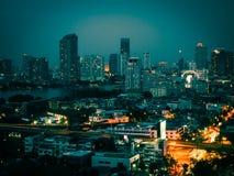Cidade Scape Fotografia de Stock