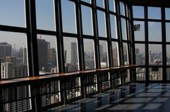 Cidade Scape do Tóquio da torre da árvore do céu do Tóquio Imagens de Stock Royalty Free