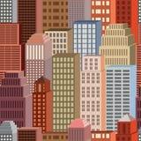 Cidade sem emenda Foto de Stock Royalty Free